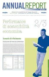 Bilancio di sostenibilità 2004_Vol.2 - Impronta Etica