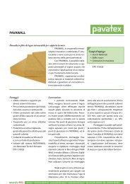 Pavawall - scheda tecnica - Naturalia Bau