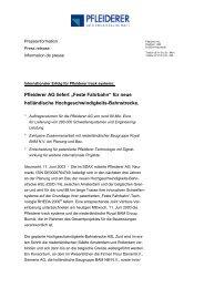 "Pfleiderer AG liefert ""Feste Fahrbahn"" für neue ... - RAIL.ONE GmbH"