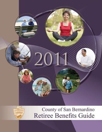 Retiree Benefits Guide - San Bernardino County