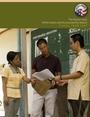 FY 2007 - Peace Corps