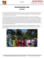 Sambad Bichitra - BASC - Bengali Association of Southern California