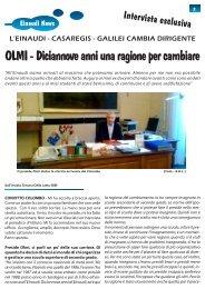Intervista a Roberto Olmi - NOI NEWS