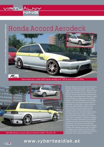 Honda Accord Aerodeck - AutoTuning.sk