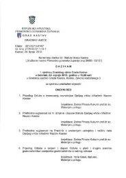 Najava 2. sjednice Gradskog vijeća Grada Kastva - Grad Kastav
