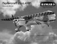 Taylorcraft 20cc Manual - Hangar 9