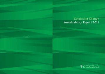 Sustainability Report 2011 - National Bank of Abu Dhabi