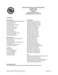 February 3, 2010 - Homeland Security Region D