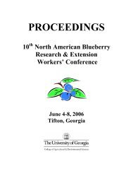10th North American Blueberry Research & Extension Workers