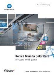 Konica Minolta Color Care