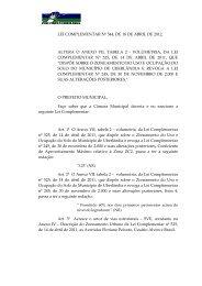 LEI COMPLEMENTAR Nº 544, DE 18 DE ABRIL DE 2012. ALTERA ...