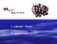 7 lübsche Thesen