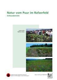 Natur vom Puur im Rafzerfeld - Hintermann & Weber AG