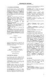 RESUMEN PSU LENGUAJE - Sector Lenguaje y Comunicación