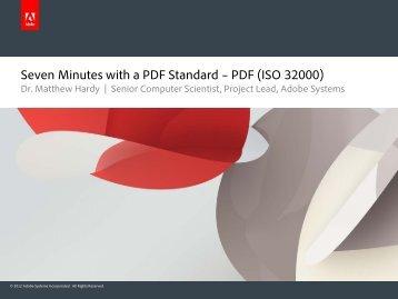 Matthew Hardy – PDF Standard - PDF Association