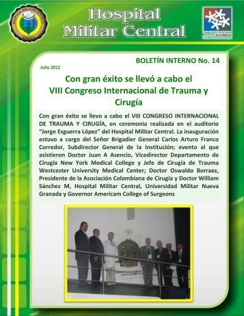 Boletín interno No. 14.pdf - Hospital Militar