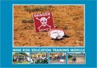 Mine risk education training module - Avsi