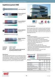 Injektionssystem VMZ - MKT Metall-Kunststoff-Technik GmbH & Co ...