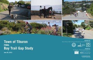Town of Tiburon Bay Trail Gap Study - Walk Bike Marin!