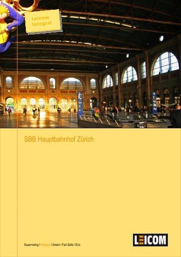 SBB Hauptbahnhof Zürich