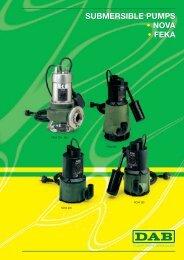 submersible pumps • nova • feka submersible pumps ... - Energija plus