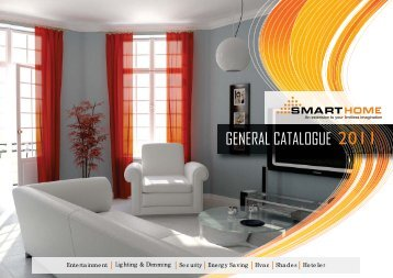 GENERAL CATALOGUE 2011 - Smart-Bus