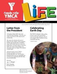 Spring 2008 Member Newsletter - Philadelphia Freedom Valley YMCA