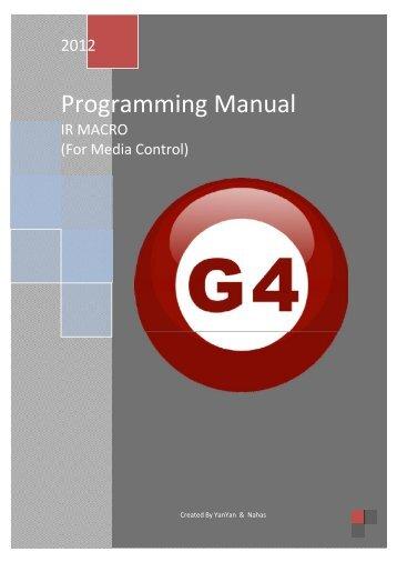 IR Macro2 Programming Manual - Smart-Bus Home Automation