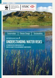 UNDERSTANDING WATER RISKS - WWF UK