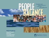 People in the Balance - BVSDE