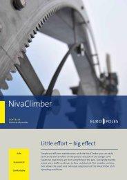 Product information NivaClimber - Europoles