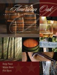 American Oak Barrel Brochure - Premier Wine Cask
