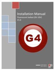 Installation Manual 0V-10V Ballast - Smart-Bus Home Automation