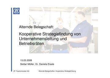 Kooperative Strategiefindung von Unternehmensleitung und ...