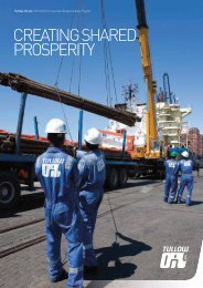 Tullow Oil plc 2011/2012 Corporate Responsibility Report - The Group