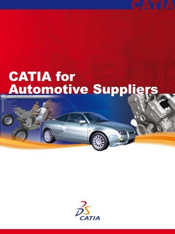 CATIA for Automotive Suppliers - PLM