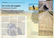 Når tvivlen får baghjul På cykel gennem Mongoliet - Gerner Thomsen