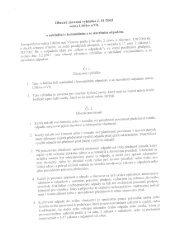 Obecně závazná vyhláška č. 01/2003 - Libčice nad Vltavou