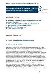 heruntergeladen werden (PDF, 595 KB) - Netzwerk für Demokratie ...
