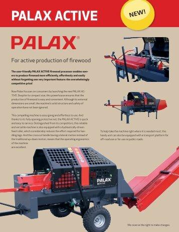 Palax Active Brochure NEW Spring 2013 - Hakmet