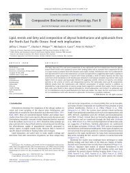 Lipid, sterols and fatty acid composition of abyssal holothurians and ...