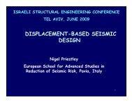 DISPLACEMENT-BASED SEISMIC DESIGN