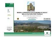 Modelli insediativi ed economia di suolo nella cultura post ... - Planeco