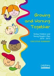 Torbay Children and Young People's Plan 2010 ... - Torbay Council