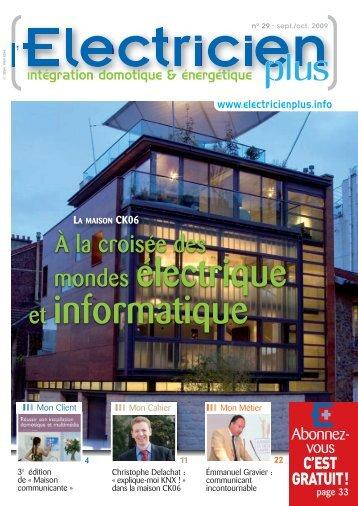 À la croisée des mondes électrique et informatique - Eguides.fr