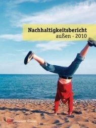 Nachhaltigkeits - Umweltmanagementsystem der Universität Bremen