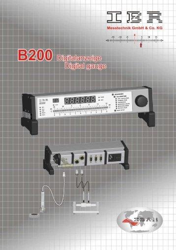 digitale Messwertanzeige - Mett-Messtechnik