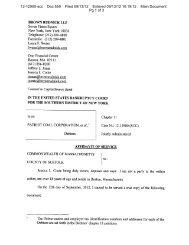 12-12900-scc Doc 559 Filed 09/13/12 Entered 09/13/12 10:19:12 ...