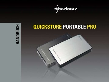QUICKSTORE PORTABLE PRO - Sharkoon