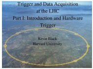Trigger and Data Acquisition at the LHC Part I: Introduction and ...
